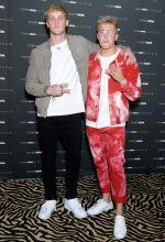 Logan and Jake Paul The Fashion Nova x Cardi B Collection Launch Event