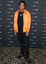 Justin Combs at The Fashion Nova x Cardi B Collection Launch Event