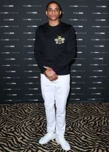 Cordell Broadus at The Fashion Nova x Cardi B Collection Launch Event
