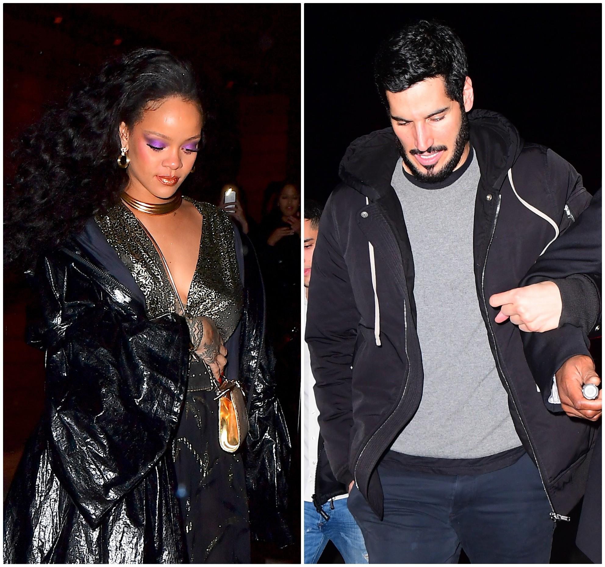 Rihanna and boyfriend Hassan Jameel