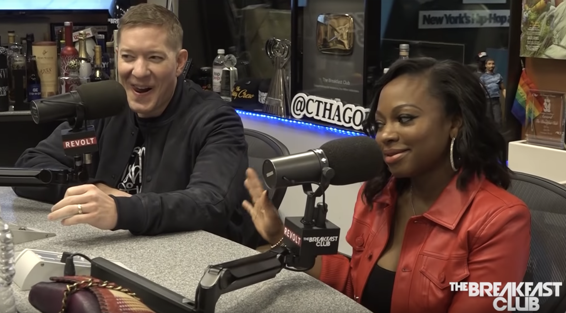 Naturi Naughton Joseph Sikora The Breakfast Club