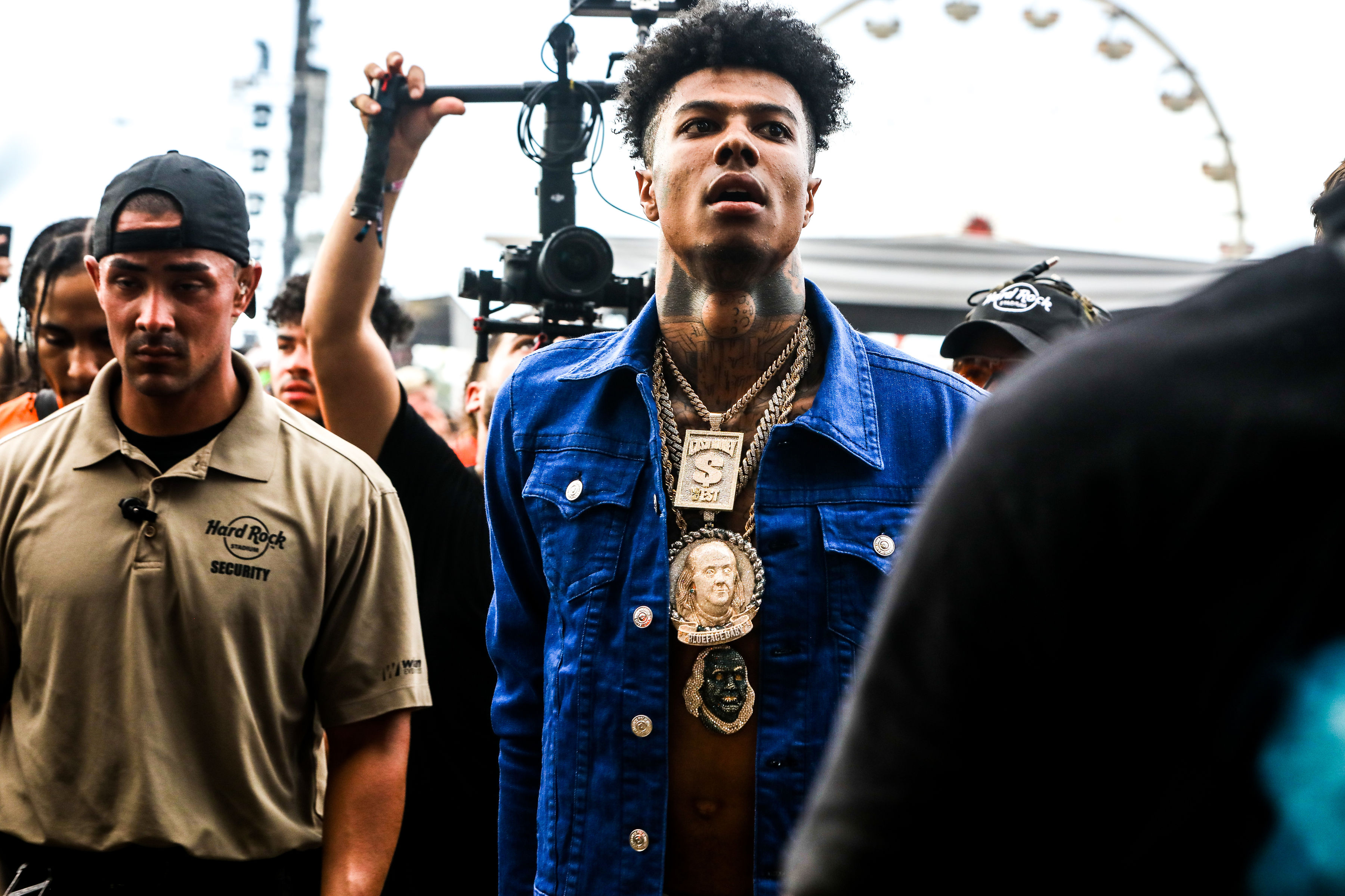 Blueface at Rolling Loud Miami