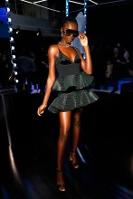 Leomie Anderson Rihanna Hosts Luxury Pop Up Launch of FENTY In Paris