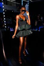 Leomie Anderson Rihanna Hosts Luxury Pop Up Launch of FENTY In Paris