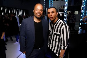 Jay Brown Olivier Rousteing Rihanna Hosts Luxury Pop Up Launch of FENTY In Paris
