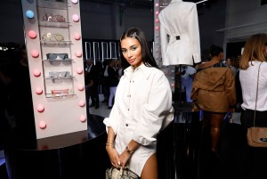 Kristen Noel Crawley attends Rihanna Hosts Luxury Pop Up Launch of FENTY In Paris