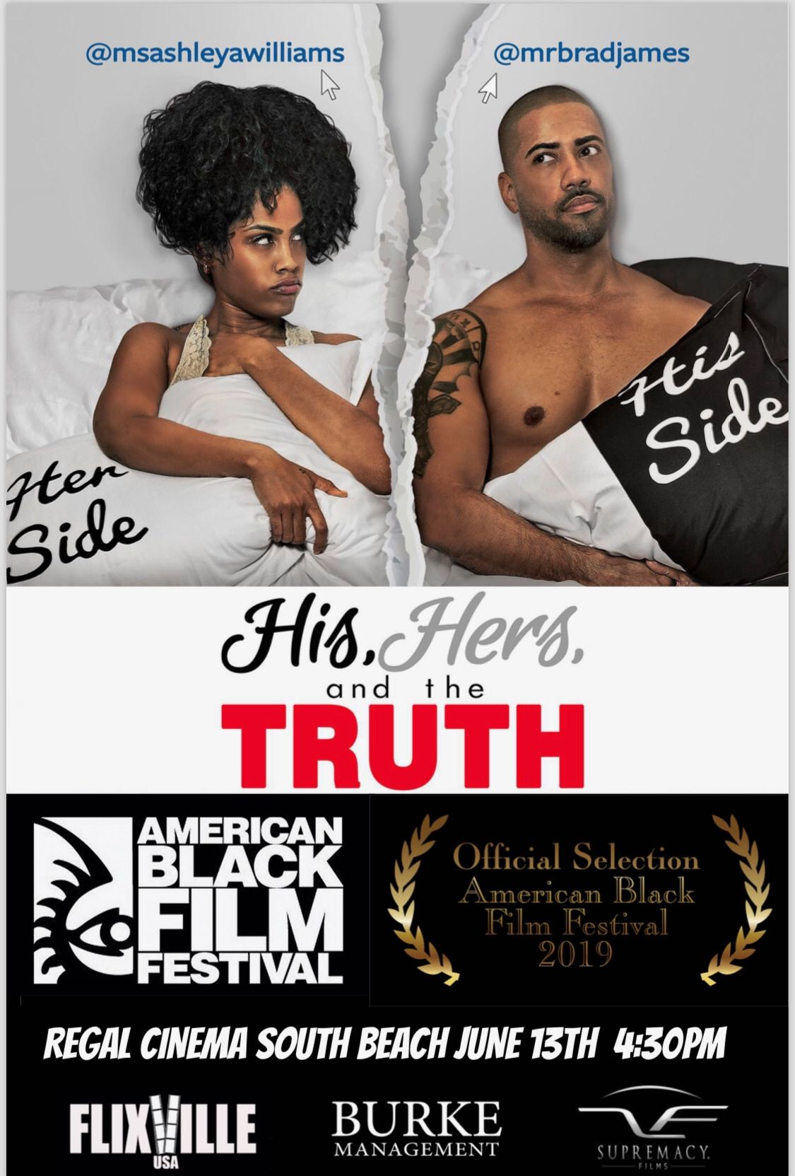 His, Hers and the Truth movie poster