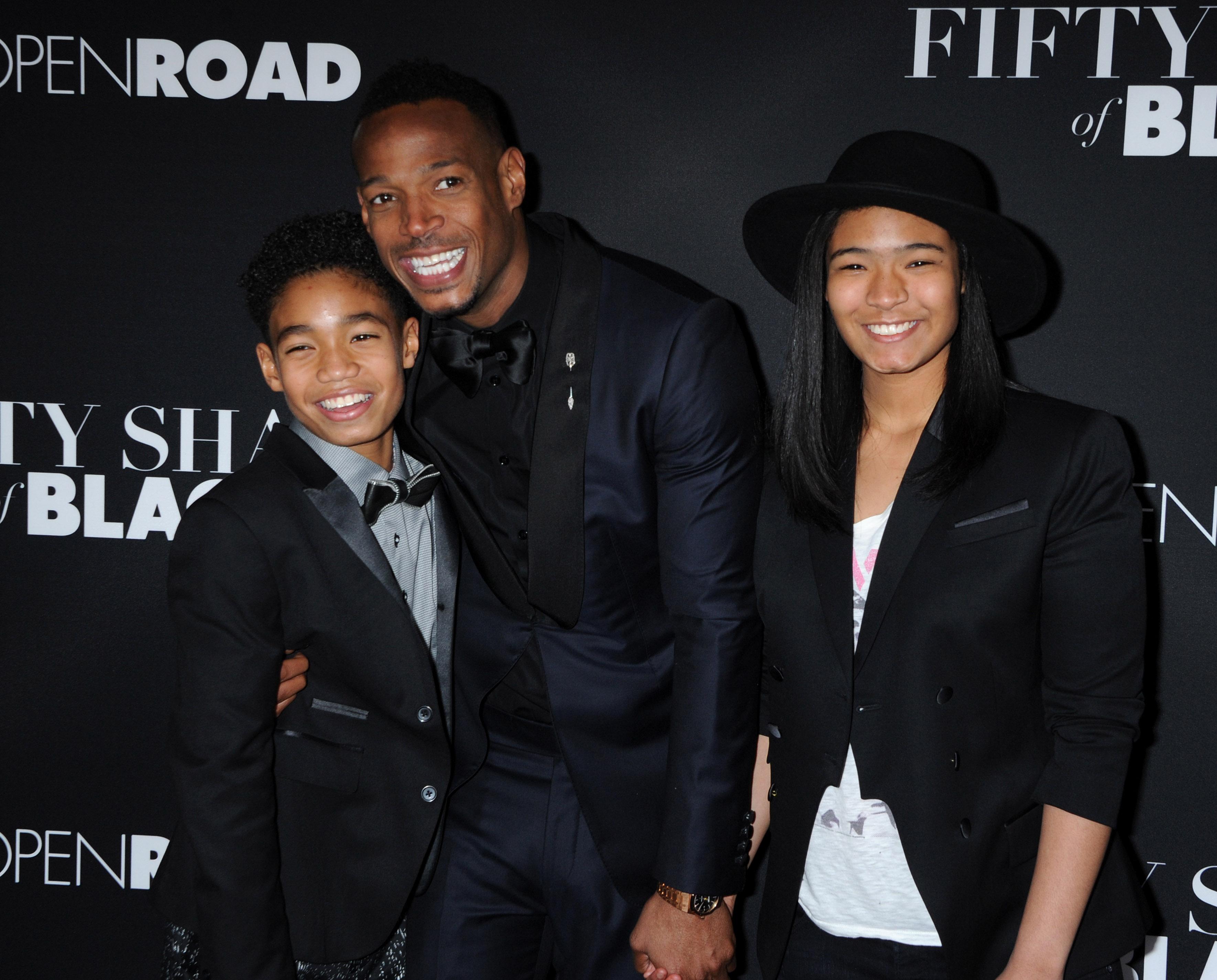 Marlon Wayans daughter Amai and son Shawn