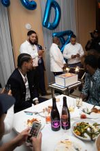Dave East NYC Birthday Dinner