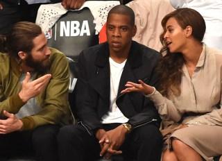 Jake Gyllenhaal, Jay Z & Beyonce