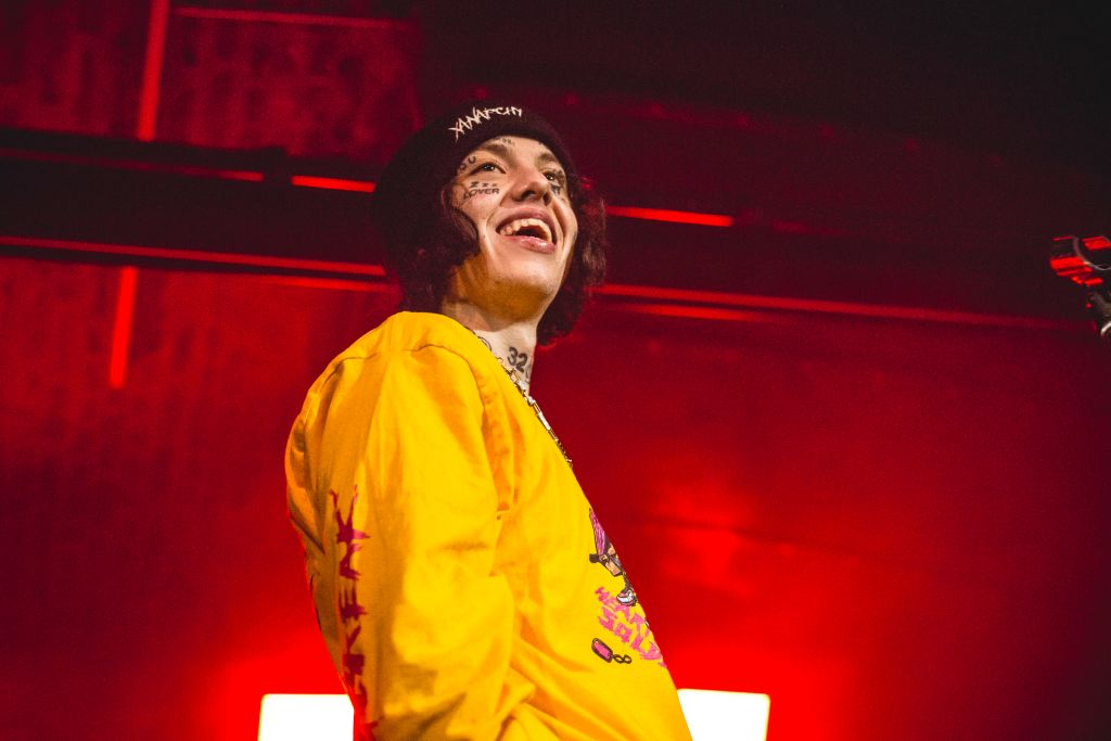 Lil Xan Performs In Cologne