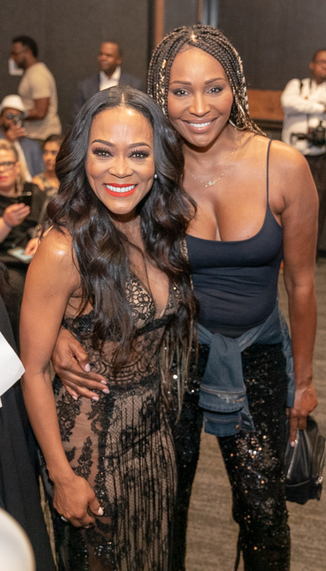 Robin Givens Cynthia Bailey Ambitions cast and crew celebrate show premiere