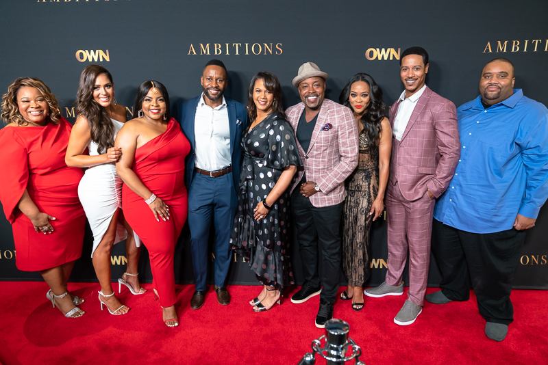 Ambitions cast and crew celebrate show premiere