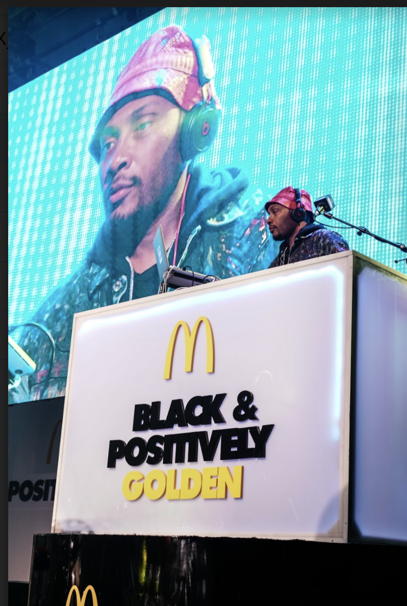 McDonald's Black and Positively Fan Fest at the BET Experience
