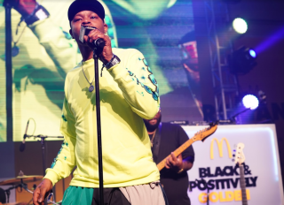 McDonald's Black and Positively Golden Fan Experience at BETX