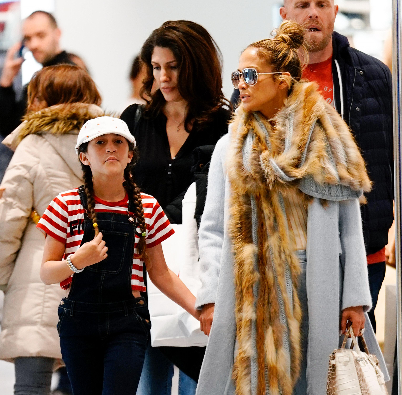 Jennifer Lopez and daughter Emme Anthony