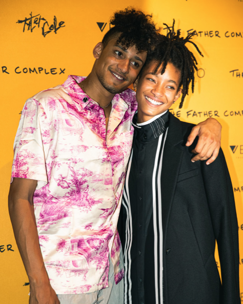 Willow Smith, Jaden Smith, and Tyler Cole