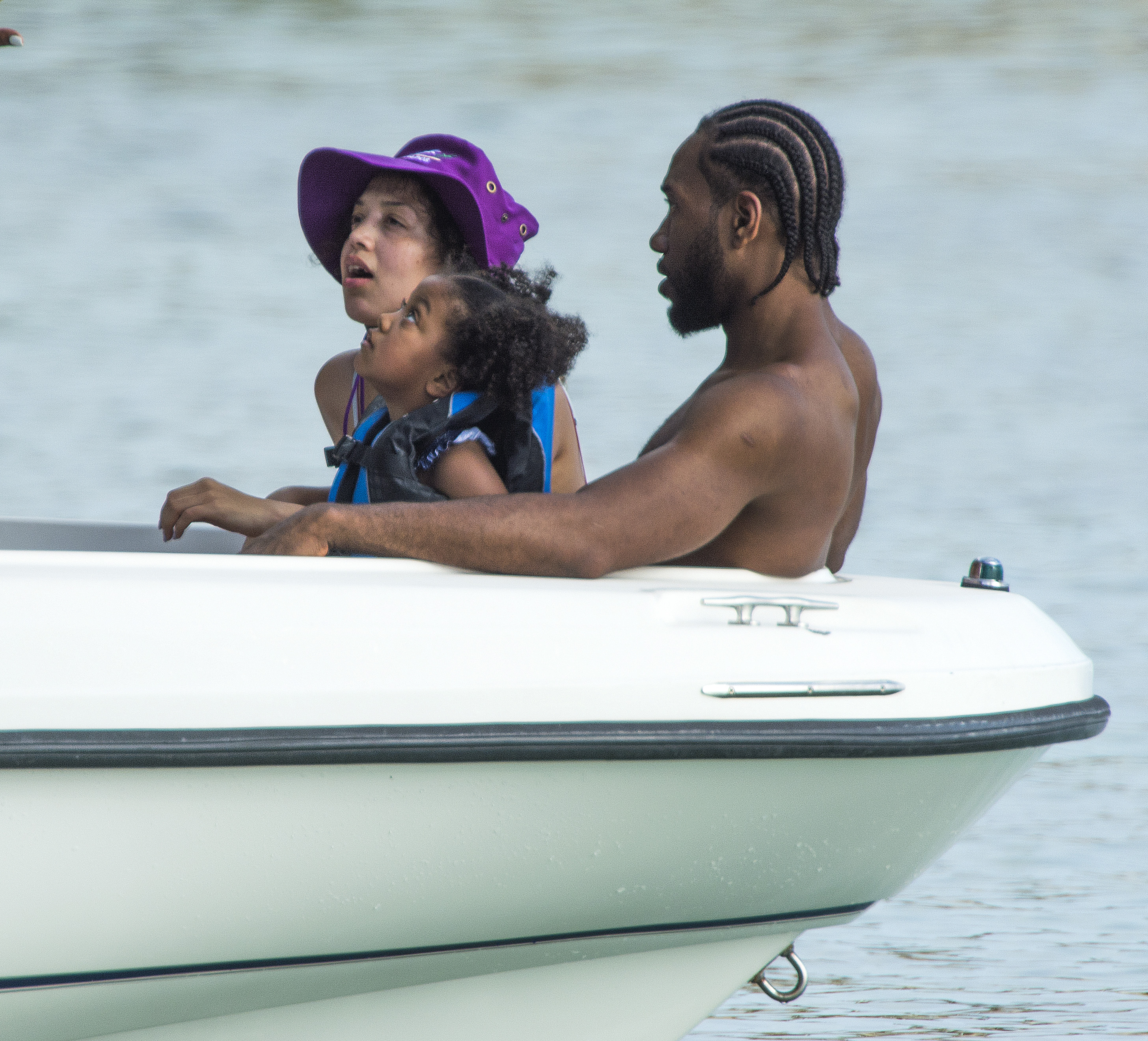 Kawhi Leonard, Kishele Shipley and their daughter vacation in Barbados