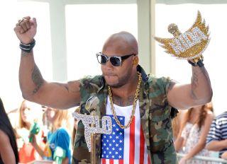 Flo Rida Performs On NBC's 'Today'