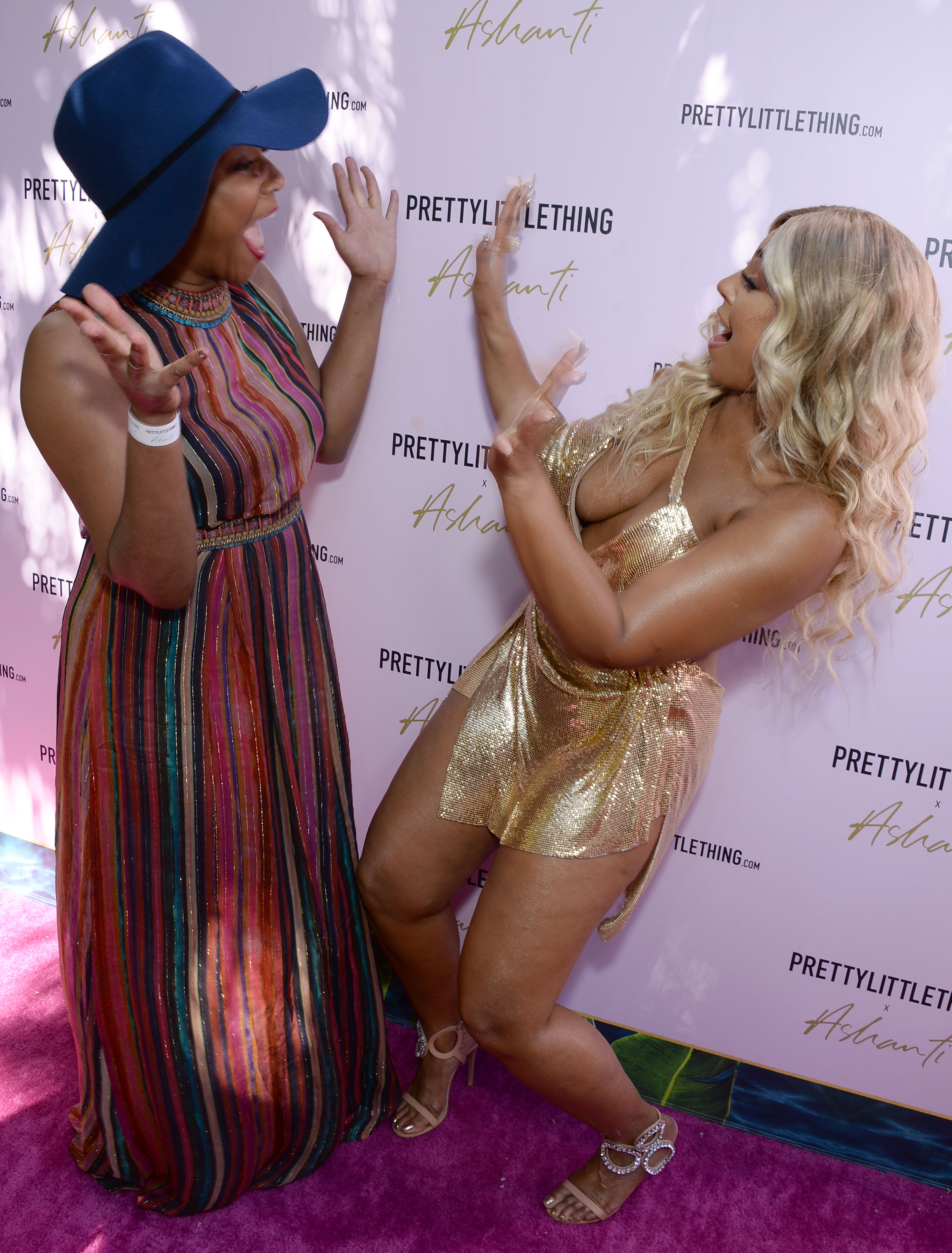 Ashanti and Tiffany Haddish