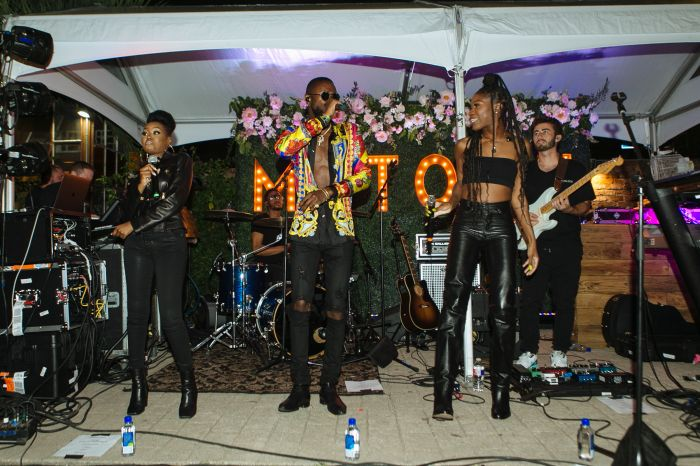 James Davis performs at Motown 60th Anniversary At Essence