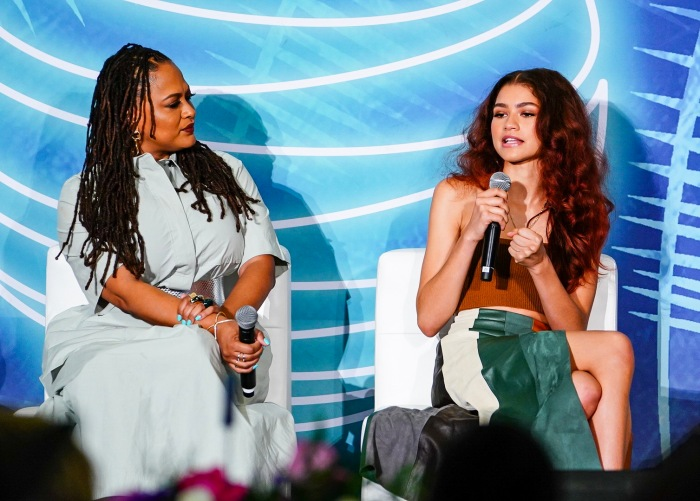 Zendaya With Ava Duvernay at AT&T Dream In Black Brunch