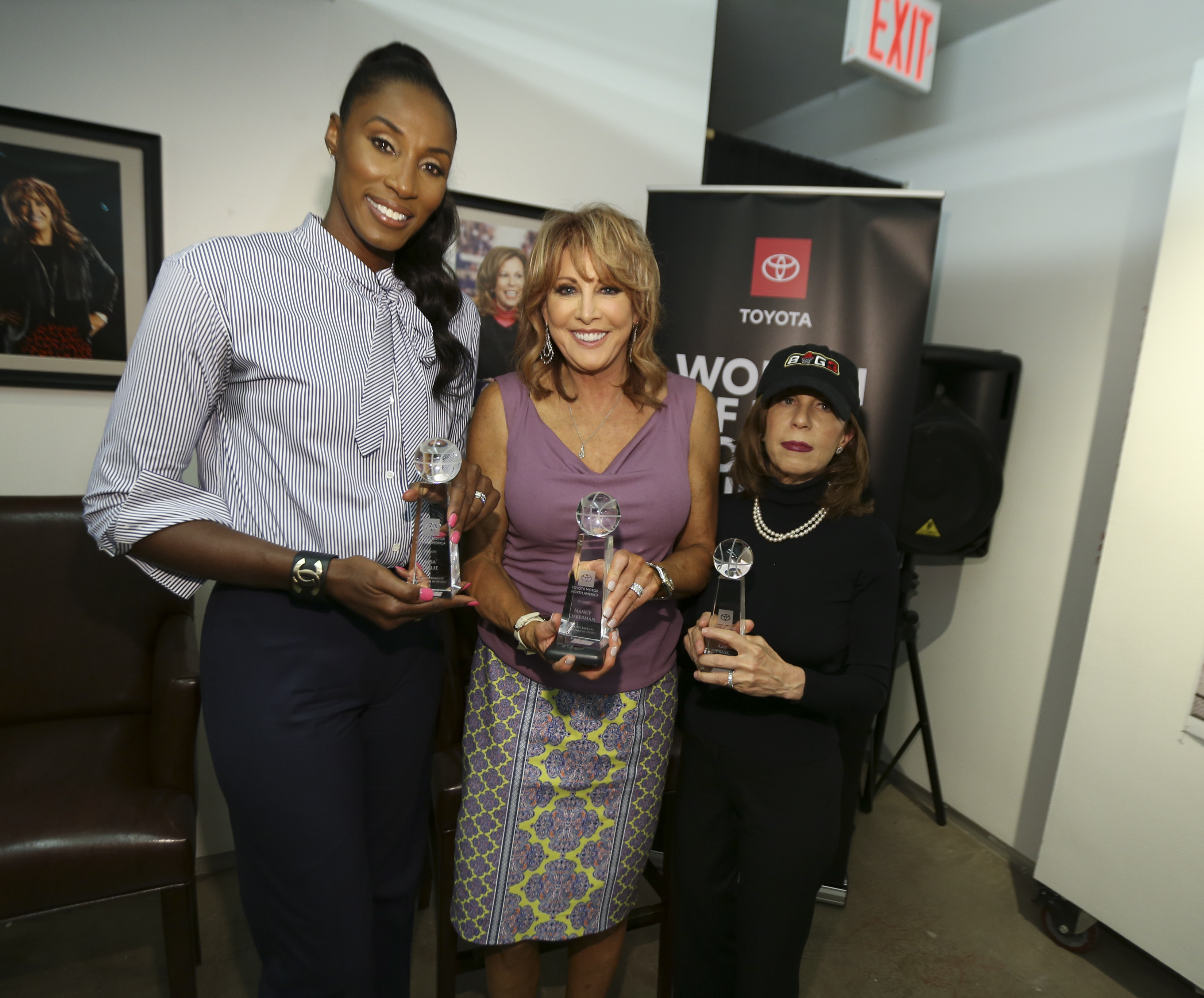 """Lisa Leslie honored at Toyota's """"Women of Big3 Luncheon"""" July 12"""