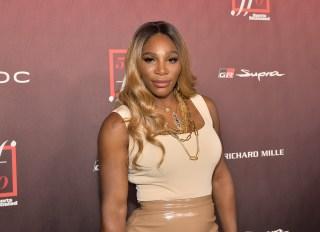 Serena Williams at Sports Illustrated Fashionable 50
