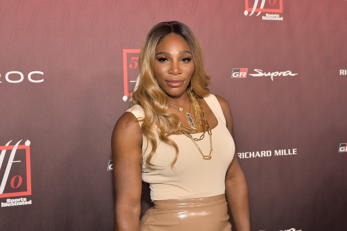 Serena Williams at Sports Illustrated Fashionable 50