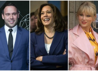 Kamala Harris caught in war between Scooter Braun and Taylor Swift