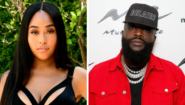 Jordyn Woods & Rick Ross
