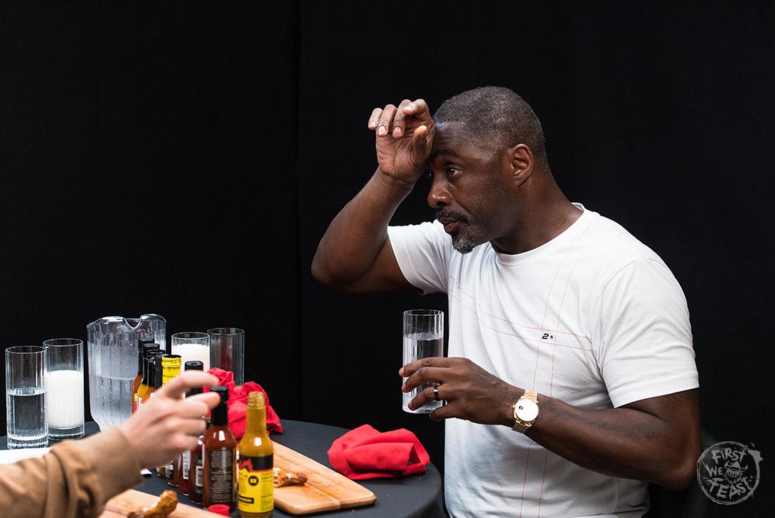 Idris Elba on Hot Ones