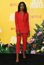 Stacy Ike at the Dear White People Vol. 3 Premiere