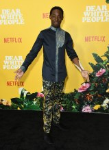 Jeremy Tardy at the Dear White People Vol. 3 Premiere