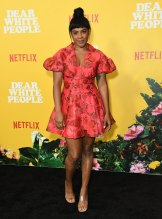 Courtney Sauls at the Dear White People Vol. 3 Premiere