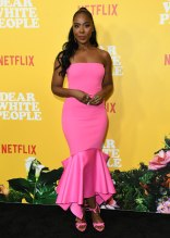 Nia Jervier at the Dear White People Vol. 3 Premiere