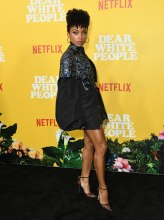 Logan Browning at the Dear White People Vol. 3 Premiere