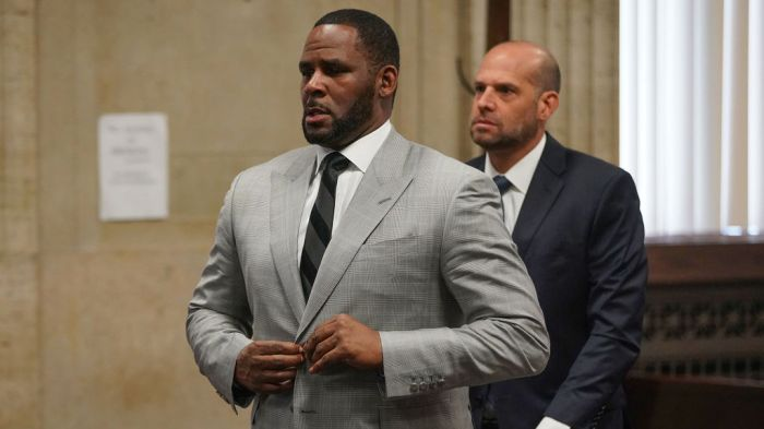 Judge grants protective order on evidence in federal charges against R. Kelly
