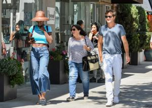 Jodie Turner-Smith Jewelry Shops In Beverly Hills with Joshua Jackson