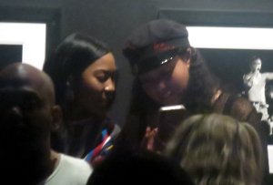 Jordyn Woods Hangs Out In The VIP Section For The Willow Smith Concert At The Roxy