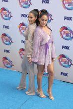 Brie and Nikki Bella at Fox's Teen Choice Awards