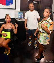 Zonique Pullins, T.I. and Toya Wright