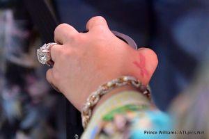Tiny Harris Wedding Ring