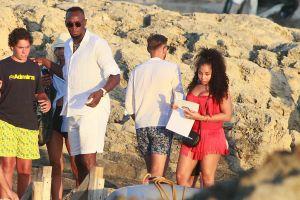 Usain Bolt and girlfriend Kasi J. Bennett vacation in Spain
