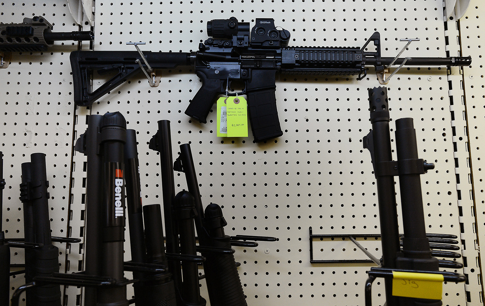 Gun owners sue to overturn Californias ban on assault weapons
