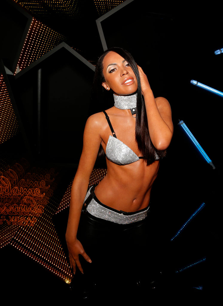 Madame Tussauds Las Vegas Unveils Aaliyah Figure Alongside Brother Rashad Haughton