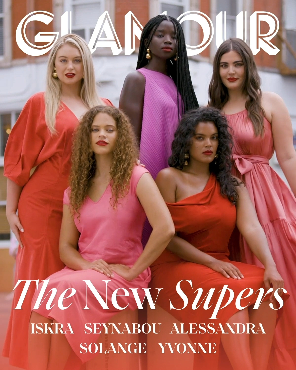 Glamour's September Issue Features Diverse Collection Of Plus Super Models