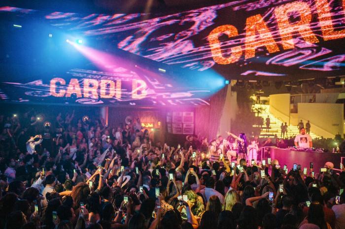 Cardi x Offset Perform At Kaos
