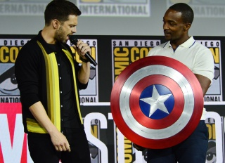 Anthony Mackie and Sebastian Stan