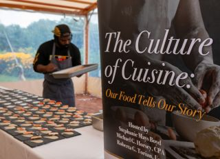"""""""The Cuisine of Culture: Our Food Tells Our Story"""" event with Visit Philly, the African American Museum in Philadelphia an Chef Omar Tate"""